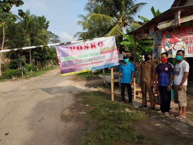 Inilah Kami, Para Penjaga Palang Pintu Masuk Pekon-Pekon di Kecamatan Amarawa