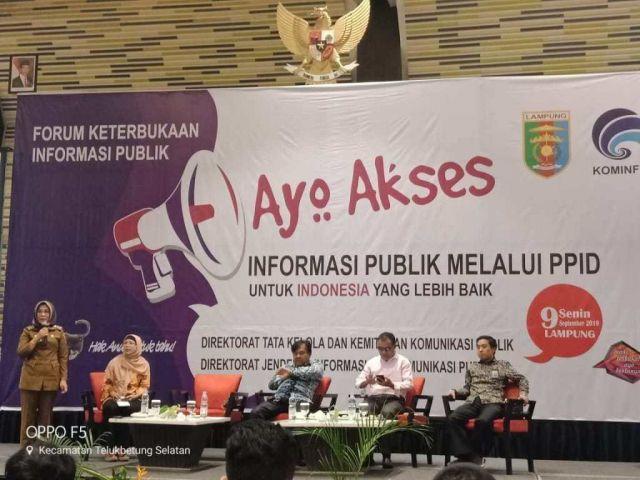 Informasi Publik melalui PPID untuk Indonesia Lebih Baik